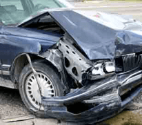 Image of Vehicle with Severe Damage